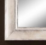 Spiegel Wandspiegel Flurspiegel Badspiegel Shabby Modern Holz Corona Silber 4, 2