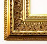 Holz Bilderrahmen Rahmen Barock Antik Retro Van Gogh Gold 8, 0 - alle Größen