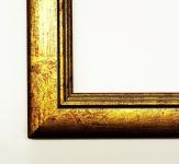 Bilderrahmen Foto Urkunden Rahmen Antik Shabby Modern Clever Line 2 Gold 3, 5