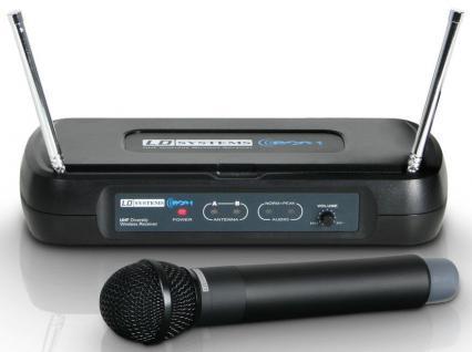 LD Systems LDWSECO2HHD VorführgerätFrqu.864.500, Drahtlos, Dynamisches Mikrofon,