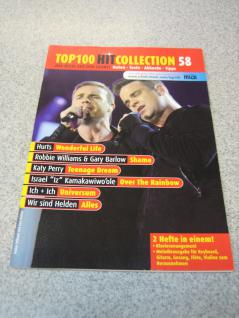 Top 100 Hit Collection 58 m.Hurts, Robbie Williams & Gary Barlow979-0-001-17390-2