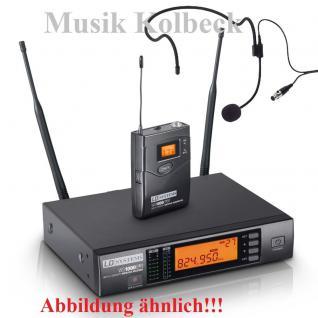 LD Systems WS 1000 BPH - Funkmikrofon System mit Belt Pack und Headset