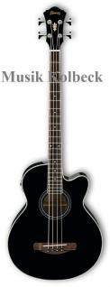 Ibanez AEB8E-BK, Acoustic Bass, Akustik Bass
