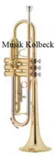 Jupiter JP- 408L - Set2 Bb-Trompete, Goldmessing, Pumpventile