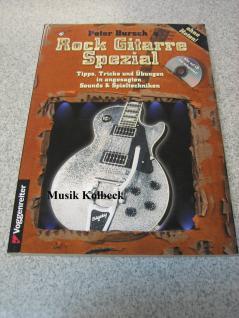 Peter Bursch Rock Gitarre Spezial (mit CD), Gitarrenschule, 987-3-8024-0238-8
