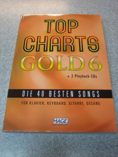 Top Charts Gold 6 (mit 2 CDs) 978-3-86626-252-2