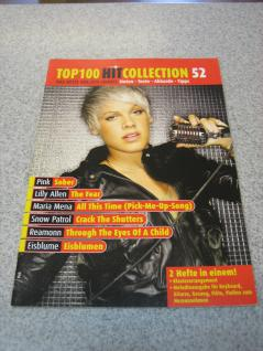 Top 100 Hit Collection 52 m. Pink, Lilly Allen, Maria Nena, 979-0-001-15772-8
