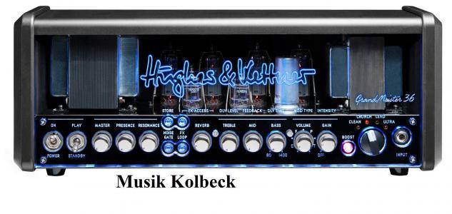 Hughes & Kettner Grandmaster 36 E-Gitarre, Röhre, Topteil