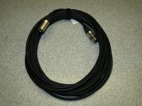 Mikrofonkabel 10m 2 x 0, 5mm Querschnitt handgelötet Sommerkabel Neutrik Stecker