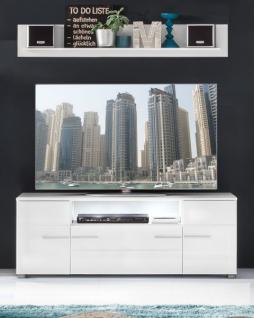 wandboard hochglanz wei g nstig kaufen bei yatego. Black Bedroom Furniture Sets. Home Design Ideas
