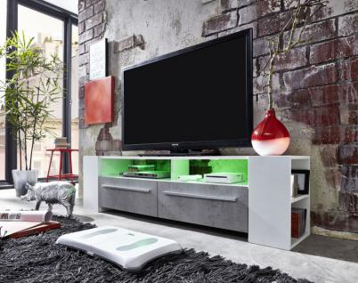 tv lowboard weiss led online bestellen bei yatego. Black Bedroom Furniture Sets. Home Design Ideas