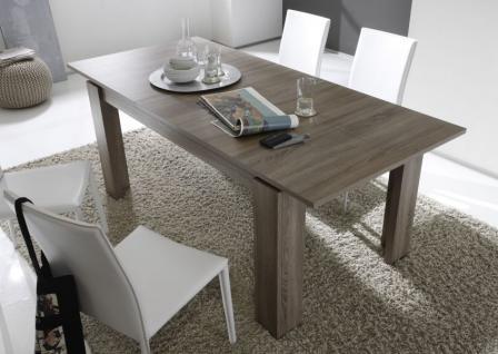 esstisch speisetisch river canyon pinie wei melamin. Black Bedroom Furniture Sets. Home Design Ideas