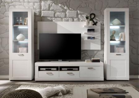 landhaus wohnwand g nstig online kaufen bei yatego. Black Bedroom Furniture Sets. Home Design Ideas
