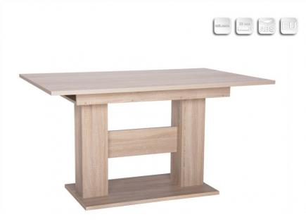 esstisch sonoma eiche 140 die neuesten innenarchitekturideen. Black Bedroom Furniture Sets. Home Design Ideas