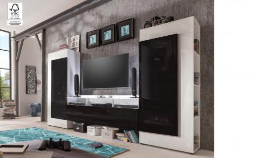wohnwand 300 cm g nstig sicher kaufen bei yatego. Black Bedroom Furniture Sets. Home Design Ideas