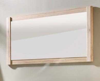 Badmöbel Spiegel Seven Eiche SanRemo hell