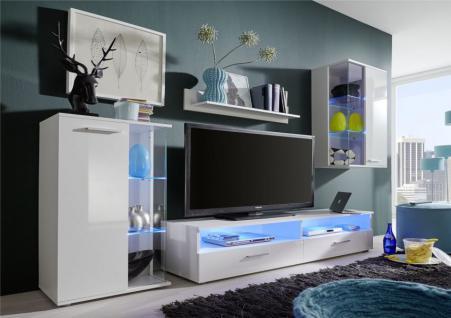 Led glaskantenbeleuchtung rgb g nstig online kaufen yatego for Wohnwand 2 70