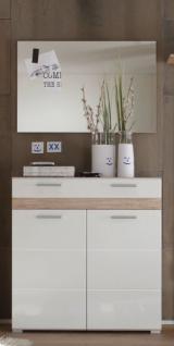 garderobenschrank mit spiegel g nstig online kaufen yatego. Black Bedroom Furniture Sets. Home Design Ideas