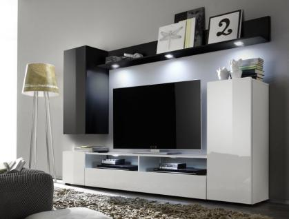 wohnwand hochglanz h ngend online kaufen bei yatego. Black Bedroom Furniture Sets. Home Design Ideas