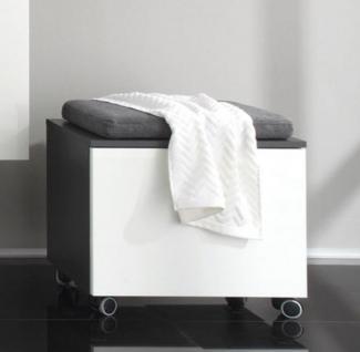 hocker weiss grau g nstig online kaufen bei yatego. Black Bedroom Furniture Sets. Home Design Ideas