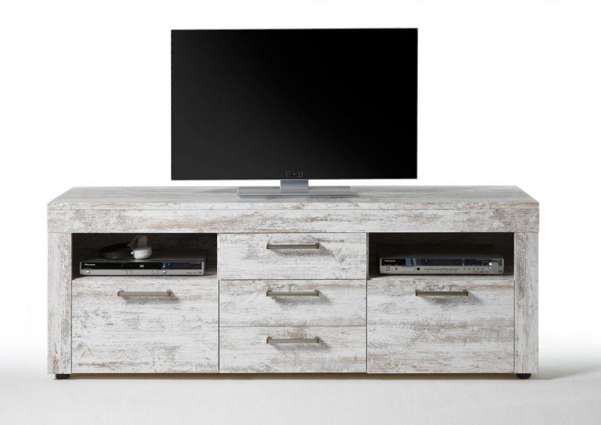 lowboard tv unterteil river weiss canyon pinie wei vintage breite 164 cm kaufen bei oe online. Black Bedroom Furniture Sets. Home Design Ideas