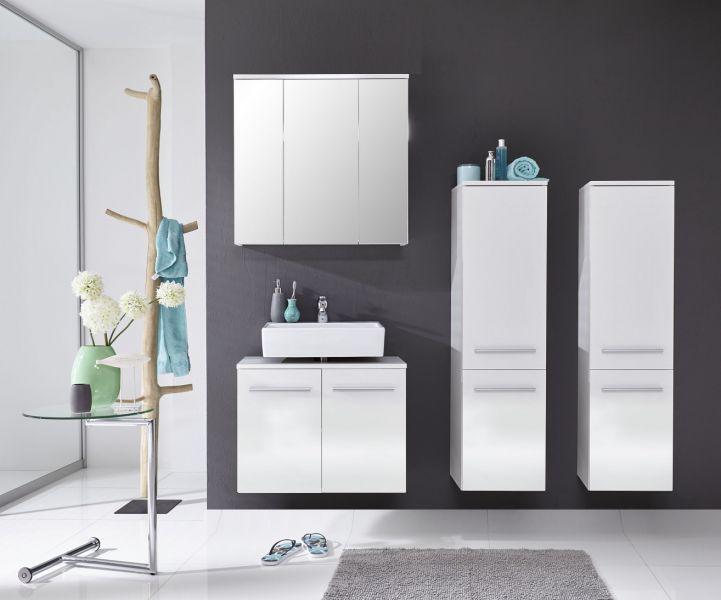 waschbeckenunterschrank xara badm bel h ngend wei. Black Bedroom Furniture Sets. Home Design Ideas
