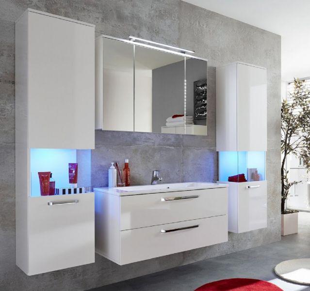 waschbeckenunterschrank inkl waschbecken sky hochglanz wei 101 x 51 cm kaufen bei oe online. Black Bedroom Furniture Sets. Home Design Ideas