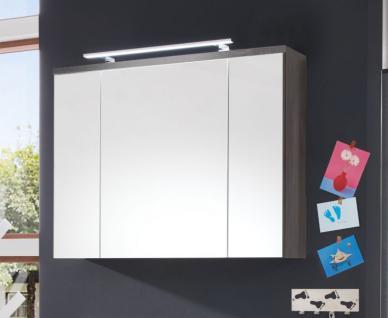 Spiegelschrank Schrank Adamo Sardegna rauchsilber Breite 100 cm