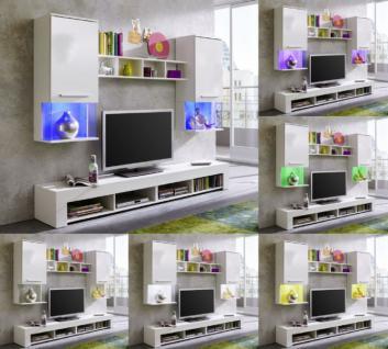 led beleuchtung schrankwand g nstig online kaufen yatego. Black Bedroom Furniture Sets. Home Design Ideas