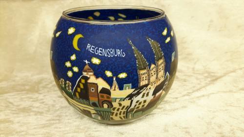Leuchtglas 11cm Regensburg