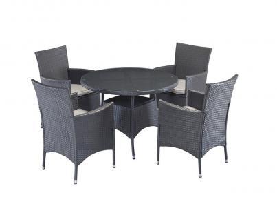 polyrattan essgruppe online bestellen bei yatego. Black Bedroom Furniture Sets. Home Design Ideas