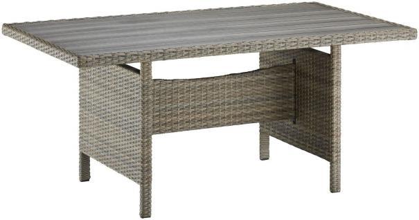 tisch polyrattan braun online bestellen bei yatego. Black Bedroom Furniture Sets. Home Design Ideas