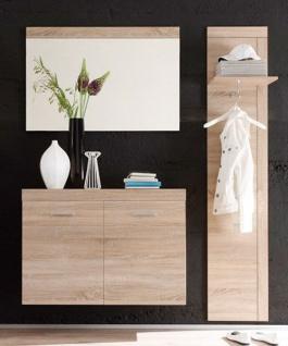 garderobe mit spiegel und schuhschrank bei yatego. Black Bedroom Furniture Sets. Home Design Ideas