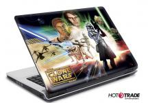 Laptop Notebook Netbook Skin Sticker Folie Schutz Aufkleber Clone Wars 10