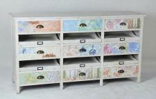 Kommode Sideboard Regal bunt Schubladen UVP 499 NEU & OVP 2521719