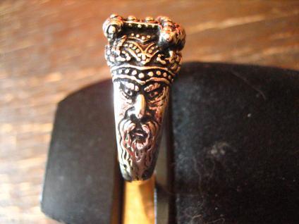 Ring Herrenring Thorhammer Thor 925er Silber Markus Mayer meets et NOX RG 68