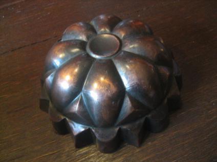 dekorative Backform Kuchenform als Deko Kupfer shabby Chic