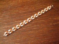 qualitätvolles Art Deco Armband 835er Silber 18 cm lang 20 gramm schwer