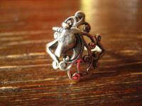 bezaubernder Einhorn Unicorn Ring wunderschön gearbeitet RG 60 925er Silber neu