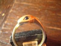 Schlangen Ring Krafttier Schlange 585er Gold 18 mm zeitlos und edel