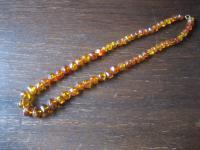 tolle antike Bernstein Collier Kette im Verlauf Vintage Amber Necklace