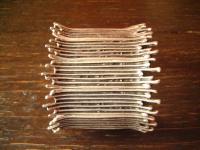 ultra geiler Statement Armreif Armband 6 cm breit Designer Leonardi Arte silber