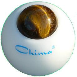 Chima Massageroller, Modell Kugel mit Tigerauge (Jungfrau)