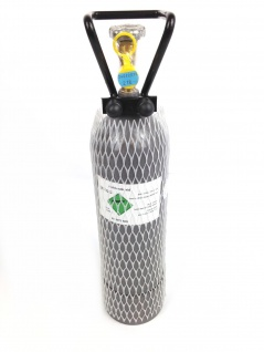 Co2 Flasche mit 2kg Füllung Zapfanlage Durchlaufkühler Bierkoffer Bierkühler
