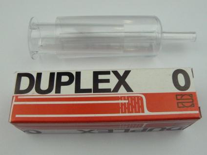 Gärspund DUPLEX 0 für Fässer bis 60 l Hobbybrauer
