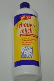 1x Eilfix Scheuermilch Ceranfeld Keramik Edelstahl Töpfe Küche Bad reinigen