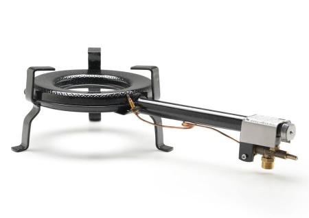 Gasbrenner Gaskocher GT-250 12, 5kw Ring Ø 25 cm für innen zum Bier brauen