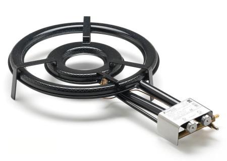 Gasbrenner Gaskocher TT-460 20kw Ring Ø 46 cm für innen zum Bier brauen