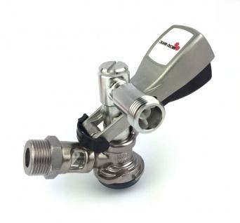 Winkel Korb Keg Zapfkopf 90° von Micro Matic für Thekenanstich an Zapfanlage