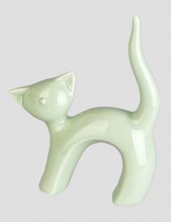 Katze Katzen Deko Tier Figur Skulptur Katzenfigur Gartenfigur Dekofigur Statue